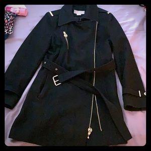 Black Michael Kors Pea Coat